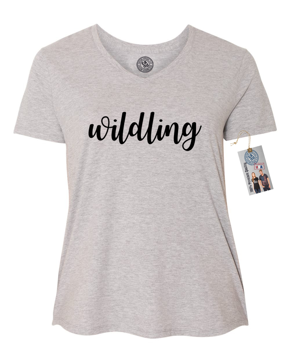 Games of Throne Wildling Shirt Plus Size Womens V Neck T-Shirt Top