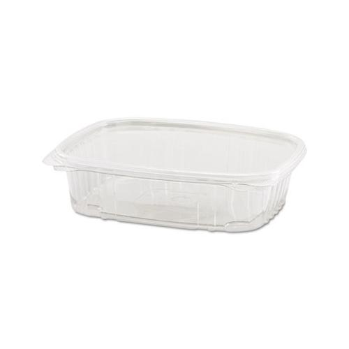 Genpak Clear Hinged Deli Container, Plastic, 24 Oz, 7-1/4 X 6-2/5 X 2-1/4, 10...