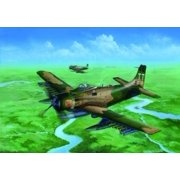 Trumpeter A1J AD7 Skyraider Aircraft Model Kit (1/32 Scale) Multi-Colored