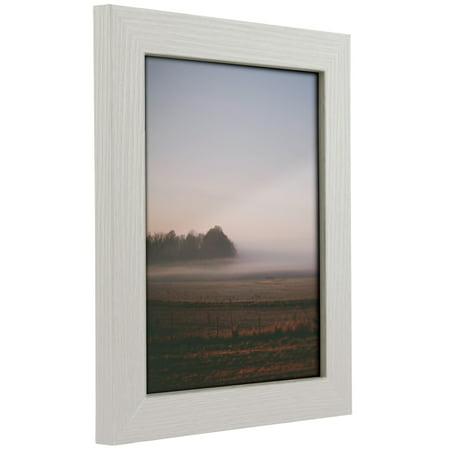 Craig Frames Bauhaus 125, Modern White Oak Picture Frame, 10x13 Inch ...