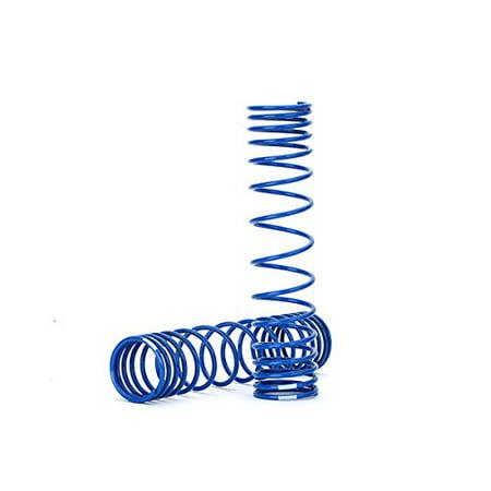 Traxxas 8445A GTR Rear Shock Springs Progressive, Blue ()