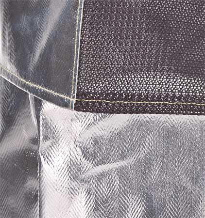 KAREWEAR 714ACKCN2XL Aluminized Jacket, 2XL, Kevlar