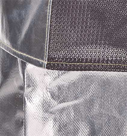 KAREWEAR 706ARCNXL Aluminized Jacket, XL, Rayon