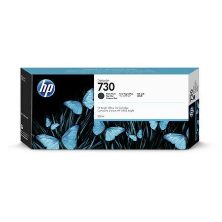 HP 730 (P2V71A) DesignJet T1700 Matte Black Ink Cartridge (300 ml)