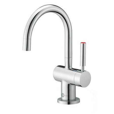 Instant Water Dispenser Faucet - Insinkerator F-H3300C Modern Chrome Instant Hot Water Dispenser Faucet