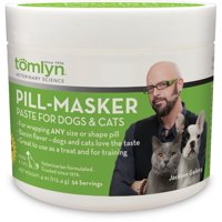 Tomlyn Pill-Masker for Dogs & Cats, Bacon Flavor, Fits All Pill Shapes and Sizes, 4 oz.