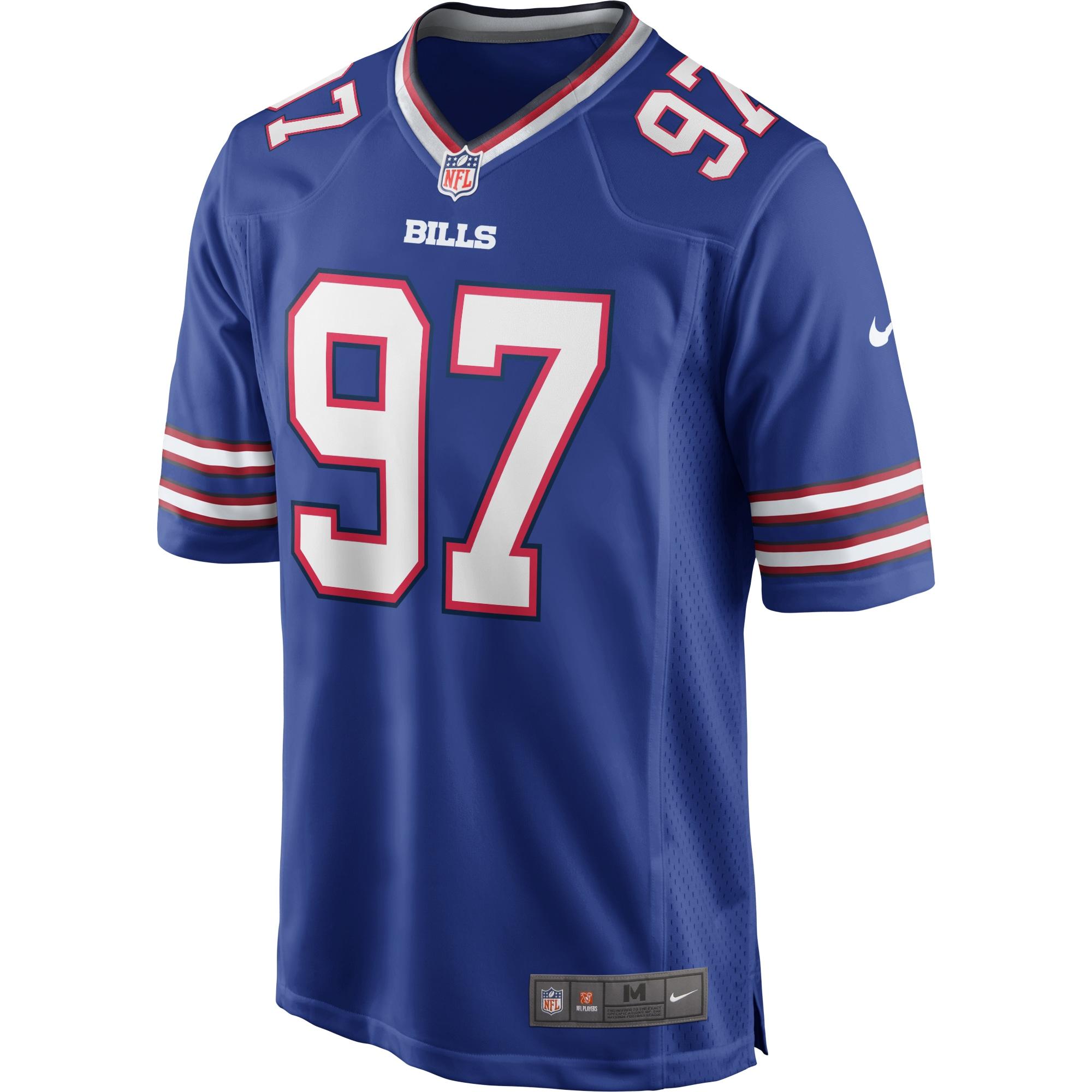 Mario Addison Buffalo Bills Nike Game Player Jersey - Royal