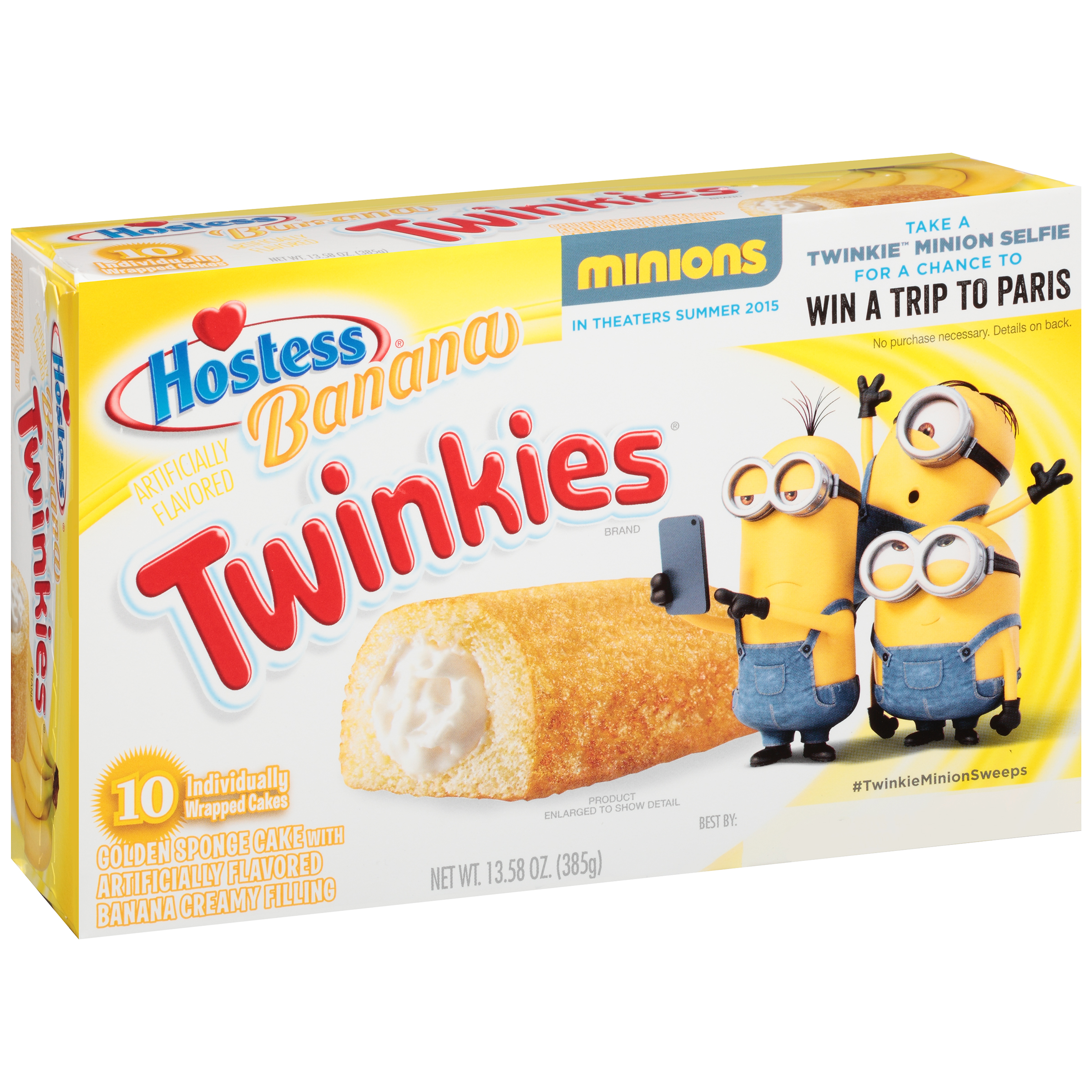 Hostess® Banana Twinkies® 13.58 oz. Package