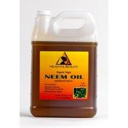 NEEM OIL ORGANIC UNREFINED CONCENTRATE VIRGIN COLD PRESSED RAW PURE 7 LB