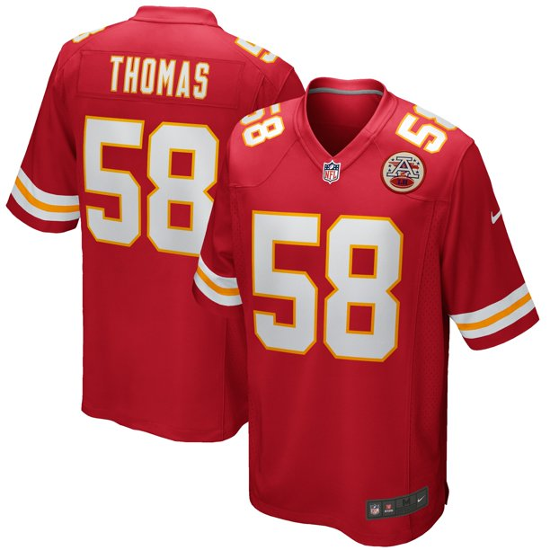 Derrick Thomas Kansas City Chiefs Nike Game Retired Player Jersey - Red
