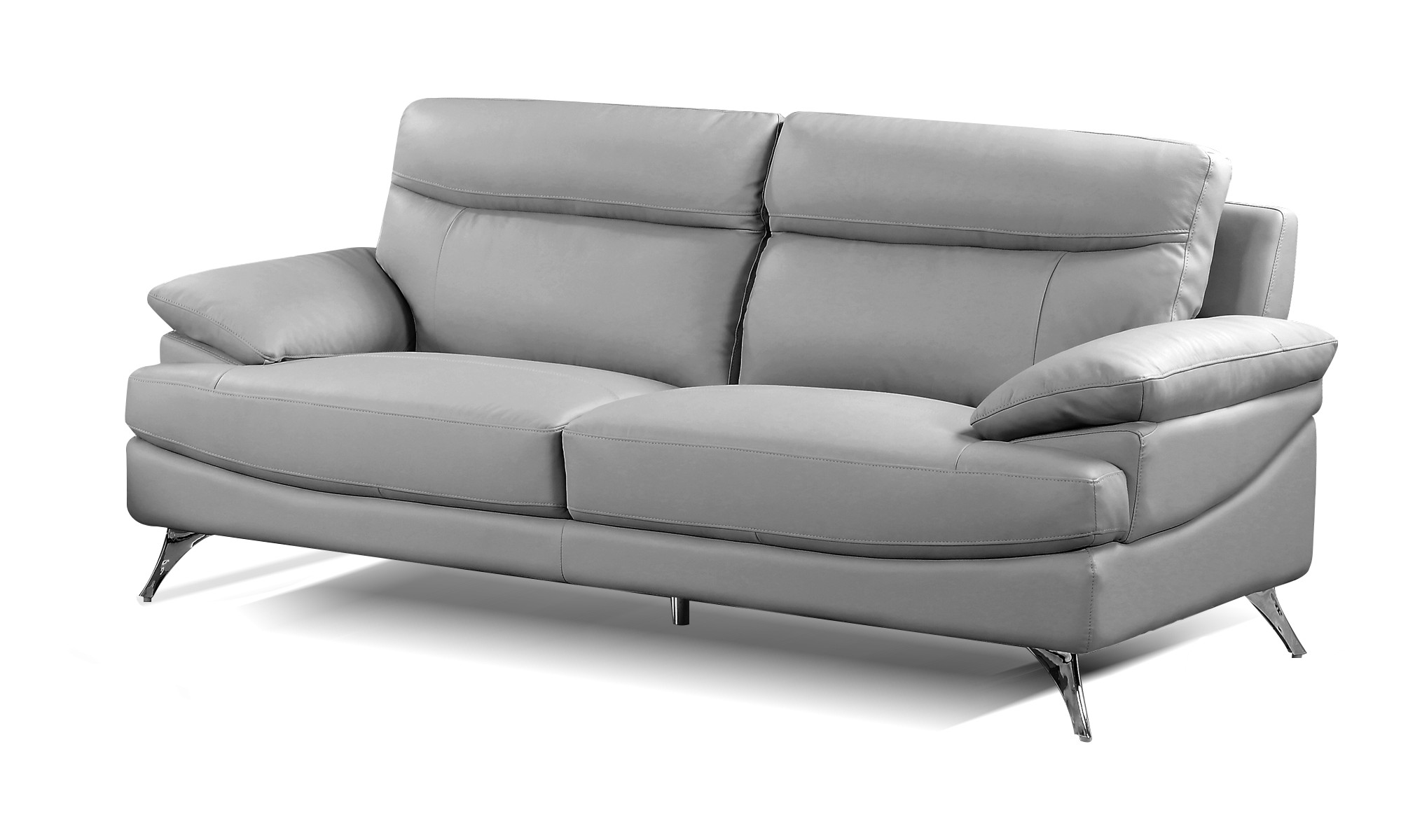 Best Quality Furniture Leather-M Sofa Multiple Colors ...
