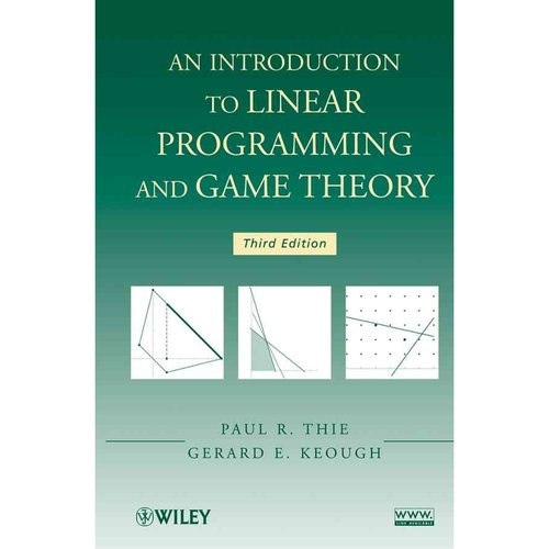 an introduction to linear programming Ter concludes with an introduction to the use of linear programming solvers in r  chapter 3 includes ten optimization problems solvable by linear pro- gramming.