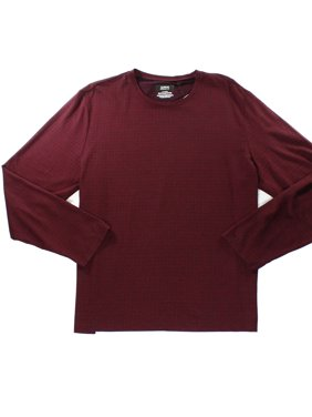 f8006d45 Product Image Alfani NEW Red Port Mens Size Medium M Box-Pattern Crewneck  Tee T-Shirt