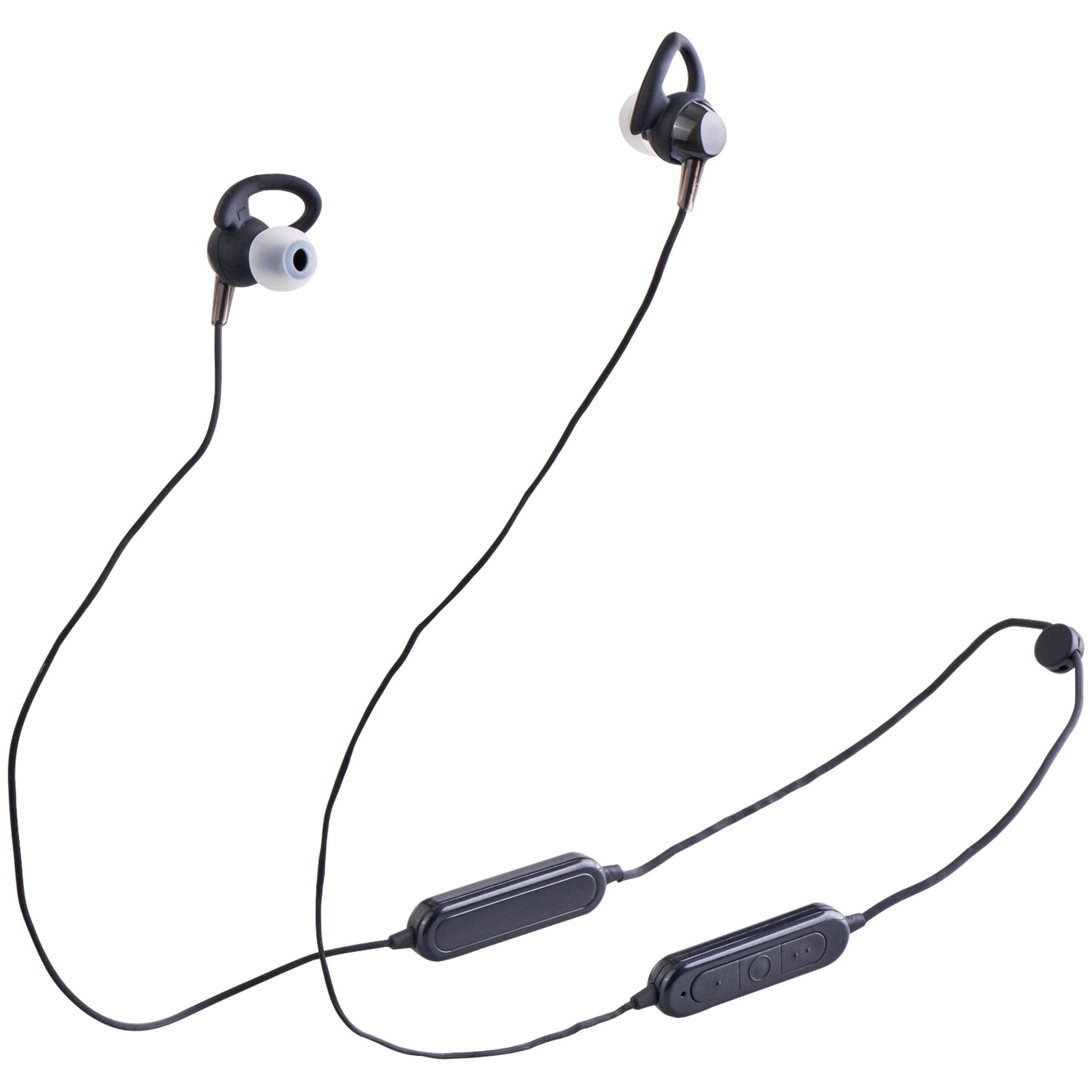 Onn Wireless Bluetooth Sport Earbuds, White - Walmart com