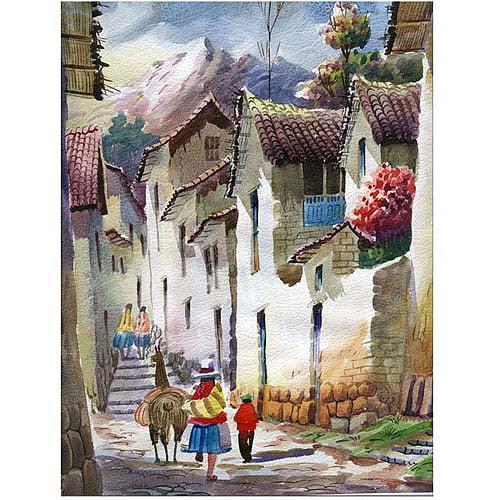 "Trademark Fine Art ""Cuzco I"" Canvas Art"