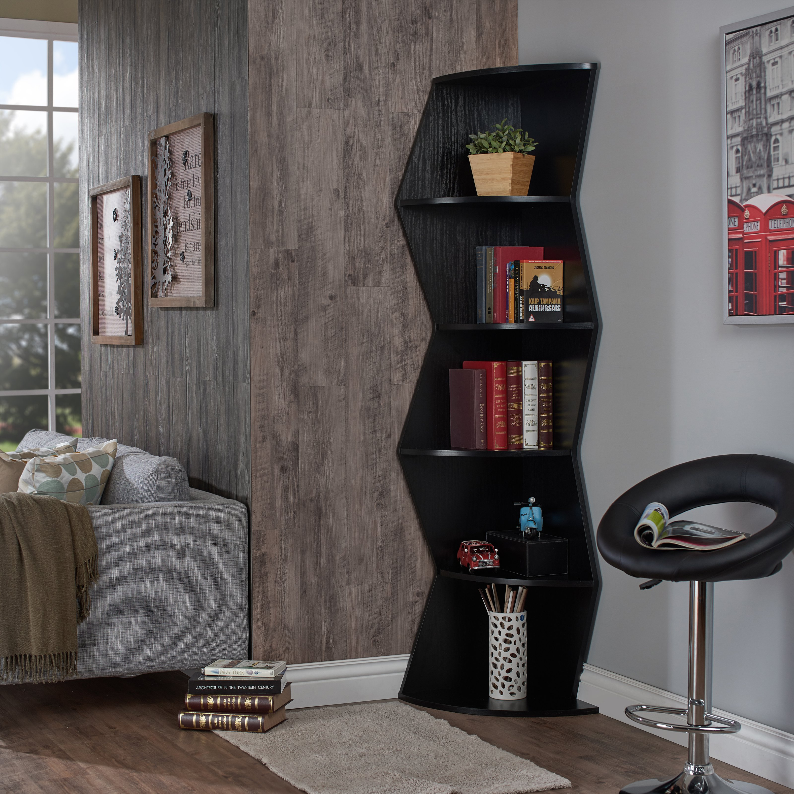 corner exceptional with ikea of grey tall photo x design and inspirations bookshelf table exciting bookcase black