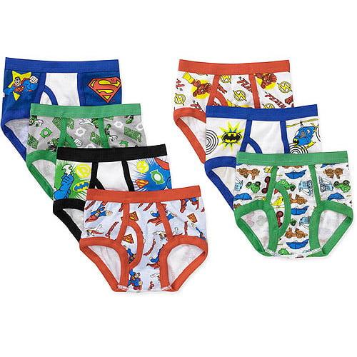 DC Superfriends Toddler Boys 7 Piece Underwear Set