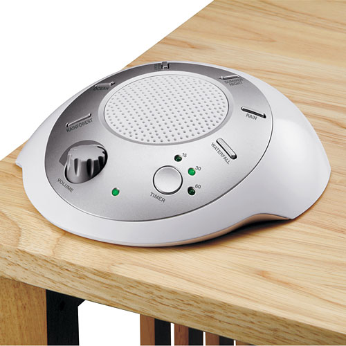 Homedics Soundspa Portable Sound Machine Walmart Com