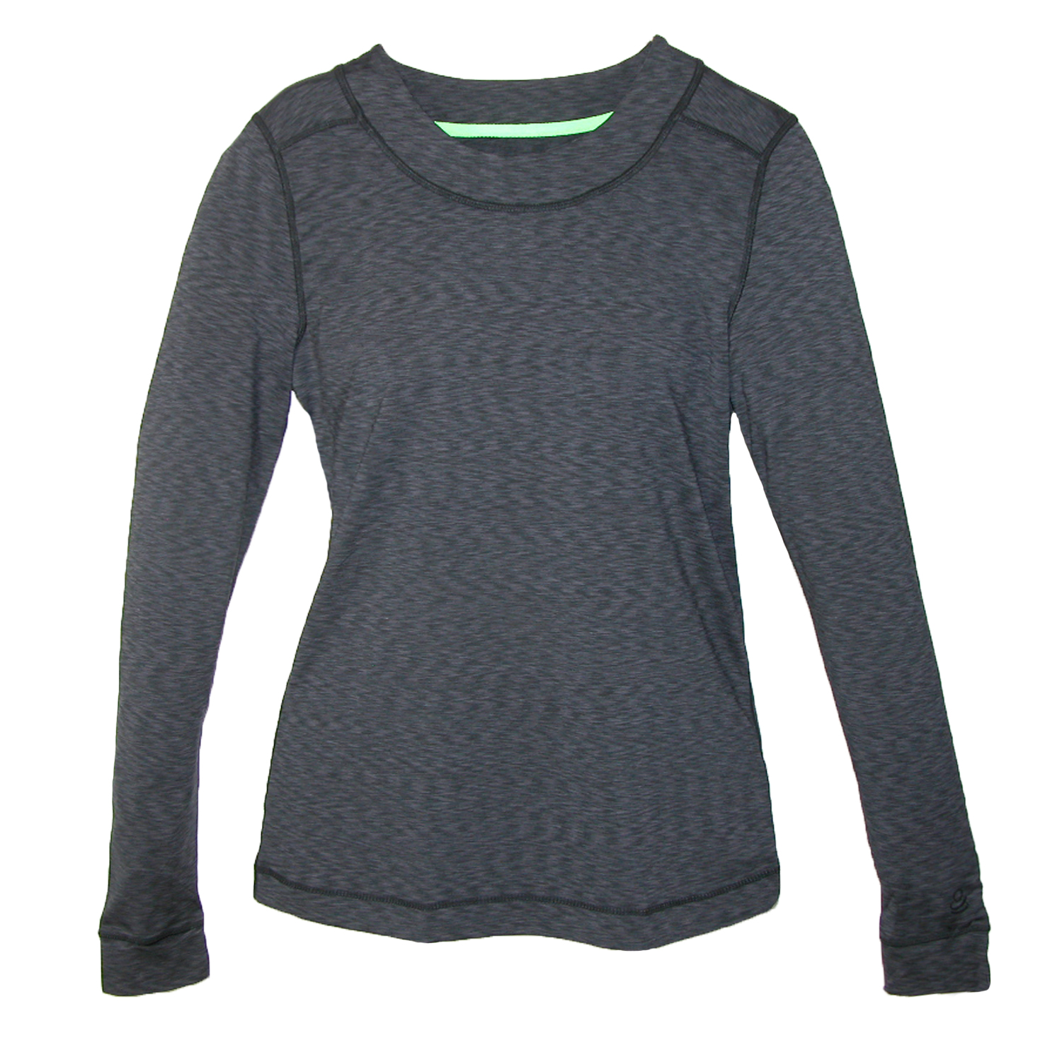 Cuddl Duds  Women's Long Sleeve Flex Fit Crew Thumb Hole