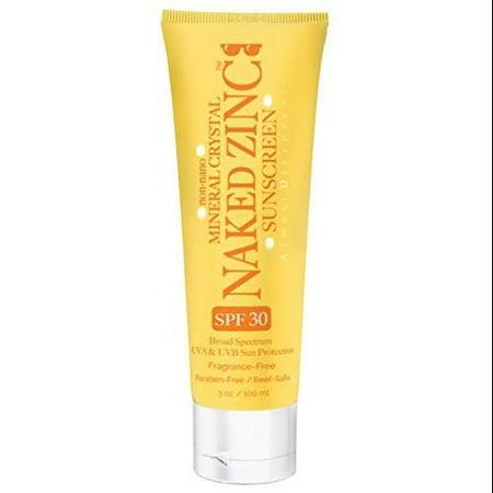 Naked Zinc Sunscreen SPF 30, Naked Bee
