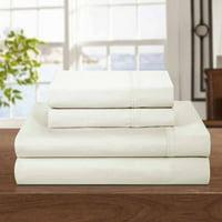 500 Thread Count Cotton Rich 4-Piece Luxury Sheet Set