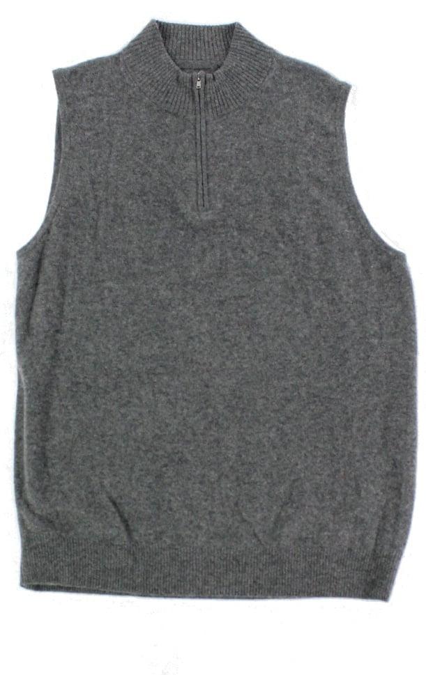 Men/'s /'Cream/' Tiled Squares Vest Size L