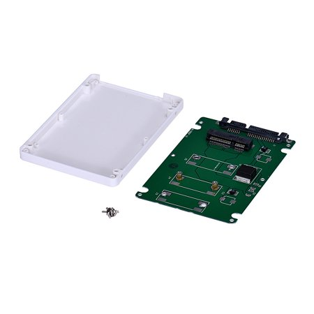 Mini pcie mSATA SSD To 2.5Inch SATA3 Adapter Card With Case WH Memory Mini Pci Cover