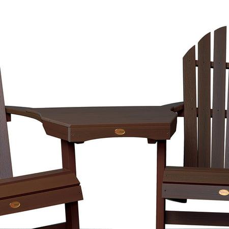 highwood® NatureTEX Adirondack Tete-a-Tete Connecting Table ()
