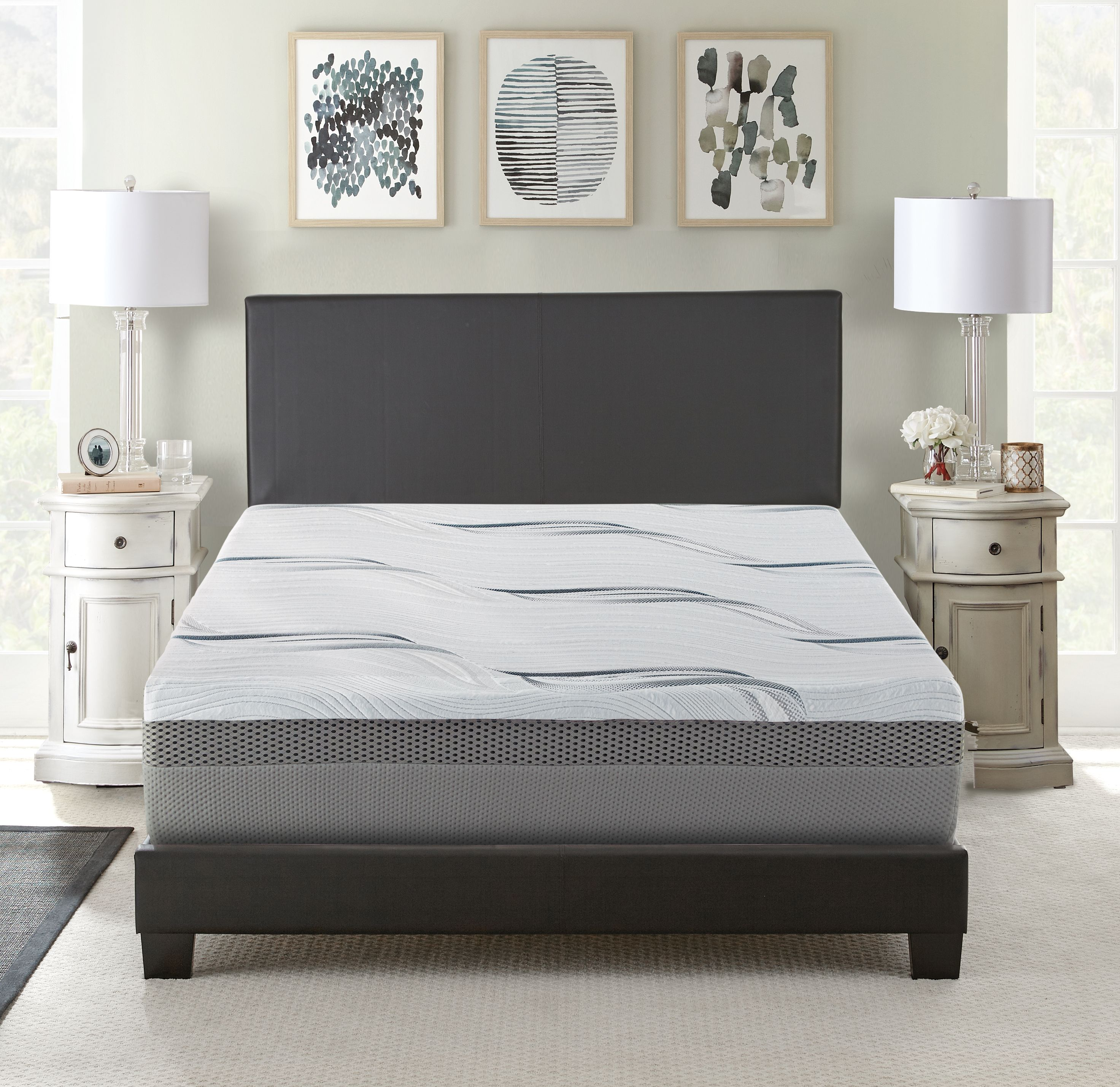 Contura III 12 Inch Medium Firm Memory Foam Mattress Bed