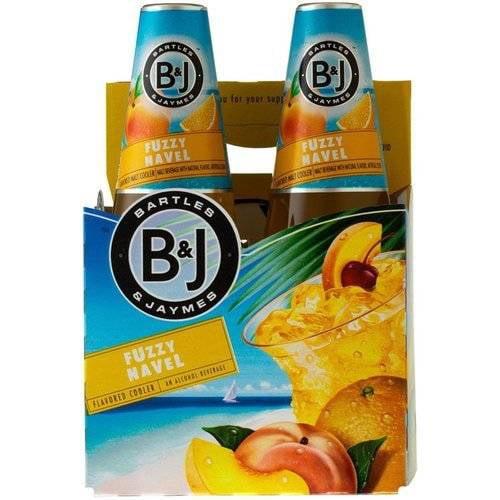 Bartles James Fuzzy Navel Cocktail 355 Ml Walmart Com