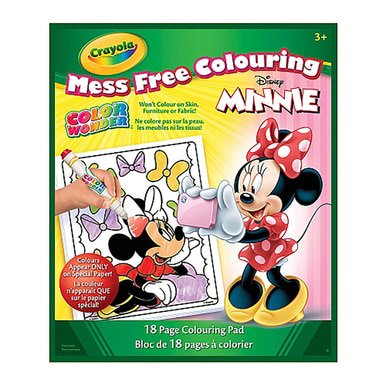 Crayola Color Wonder Book Minnie (Minnie Color)