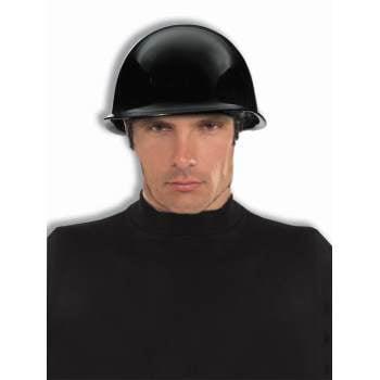 BAD BIKER HELMET-BLACK](Novelty Helmet)