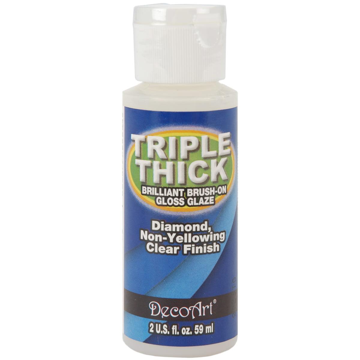 Deco Art? Triple Thick Brilliant Brush-On Glaze - 2oz./Gloss Multi-Colored