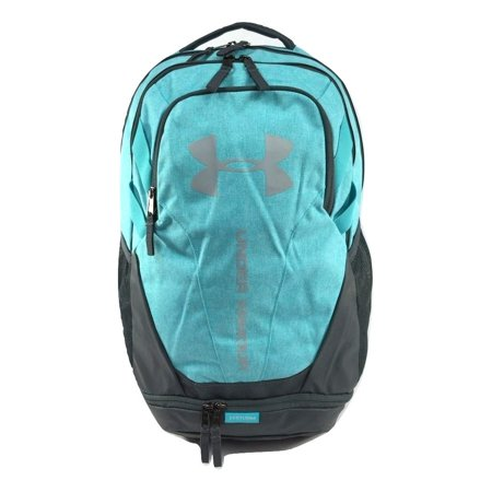 Under Armour Adult Hustle 3.0 Backpack Teal/Overcast Gray 1294720-403 ()