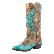 Stetson Western Boots Womens Bella Leather Brown 12-021-6105-0993 BR