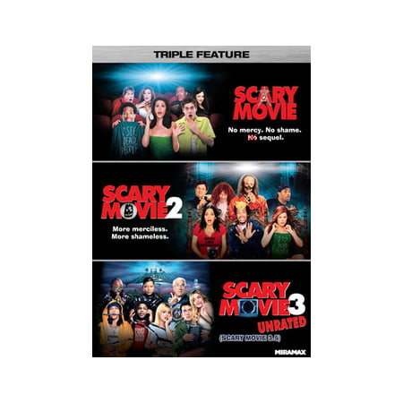 Scary Movie Triple Feature (DVD) - Scary Serial Killer Movies
