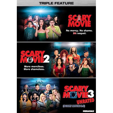 Scary Movie Triple Feature (DVD) (Halloween Scary Movie Quotes)
