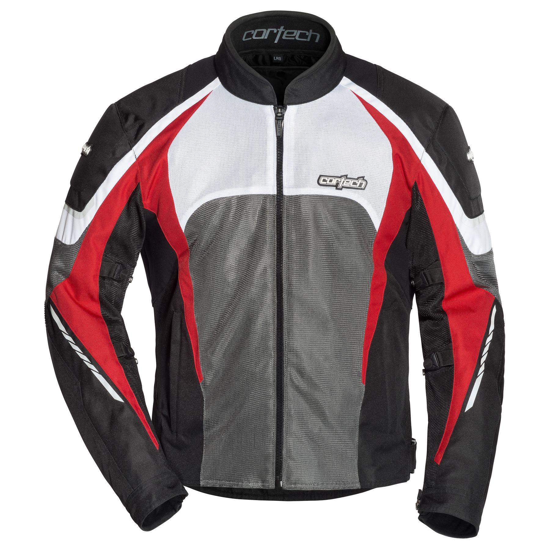 Cortech GX Sport Air 5.0 Mens Jacket Black/Red