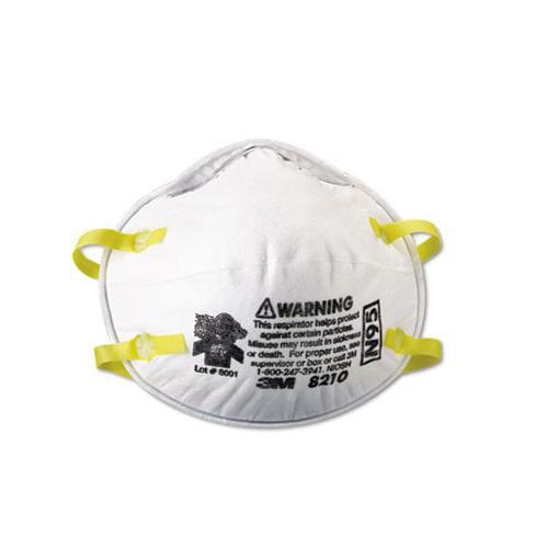 Lightweight Particulate Respirator 8210 MMM8210 by