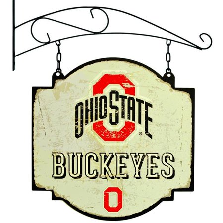 - Winning Streak Sports 11405 16 x 16 in. Ohio State Buckeyes Mens Vintage Tavern Sign, Small Multicolor