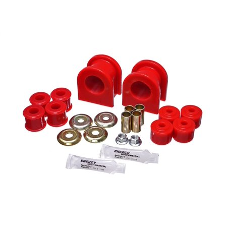 Energy Suspension 89-11 Ford F53 Motorhome Red 36mm Rear Sway Bar Bushing Set 4wd Energy Sway Bar Bushings