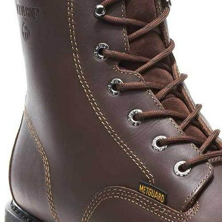 0d41228f337 Men's Wolverine Cannonsburg Internal Metatarsal Guard EH Steel Toe