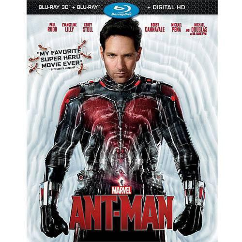 Ant-Man (Blu-ray 3D + Blu-ray + Digital HD)