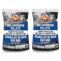 (2 pack) Pit Boss BBQ Wood Pellets Competition Blend, 40 lbs