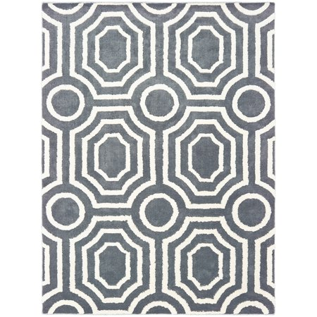 United Weavers Pure Area Rugs 2320 30171 Contemporary Silver