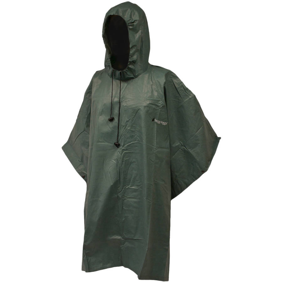 Click here to buy Frogg Toggs Adult Poncho by Frogg Toggs.