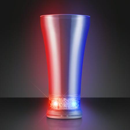 Blue Pilsner (FlashingBlinkyLights Red White & Blue Pilsner Light Up)