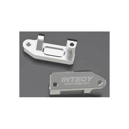 Integy RC Toy Model Hop-ups T7989SILVER Caster Blocks II for Traxxas 1 10 Stampede 2WD,... by Integy
