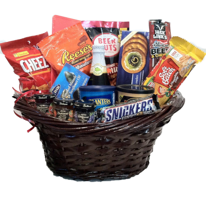 Gourmet Treats Gift Basket