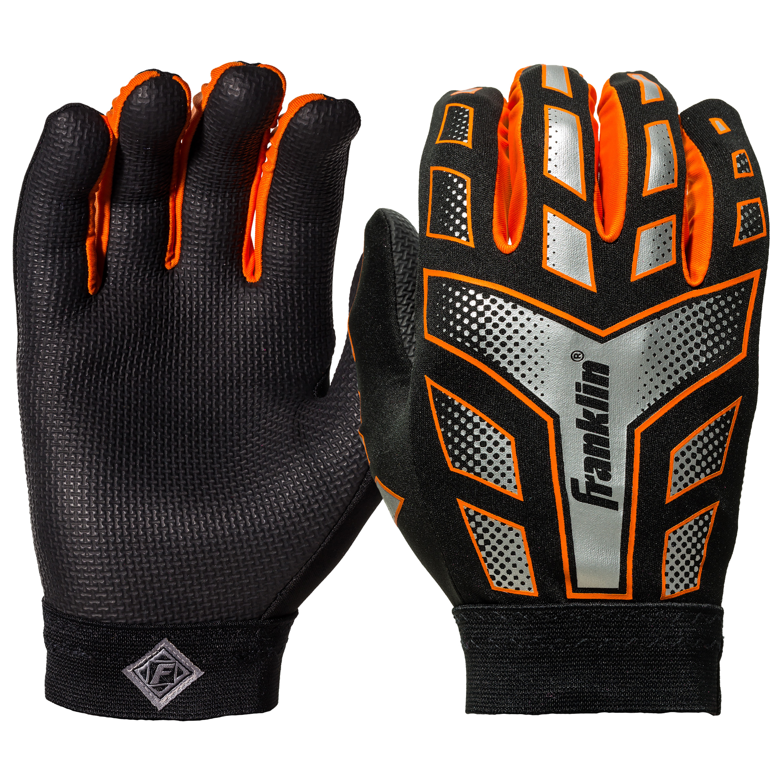 4d0c7c09518 Franklin Sports NFL Grip Performance Football Receiver Gloves - Walmart.com